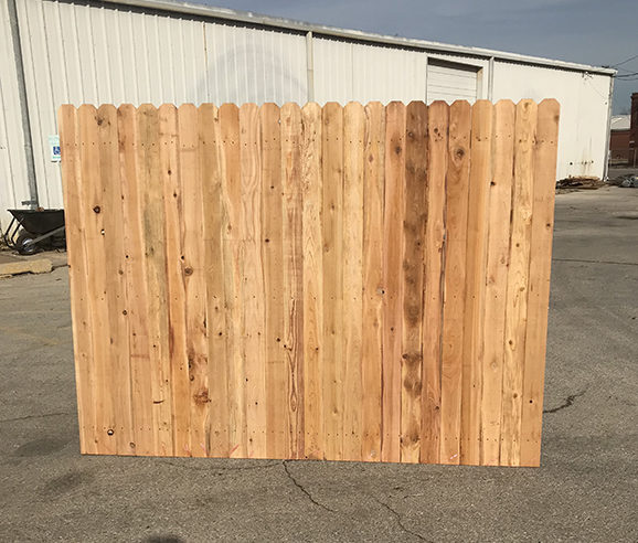 Cedar Fence Panels 1x4x6 For Sale Okc Oklahoma Lumber